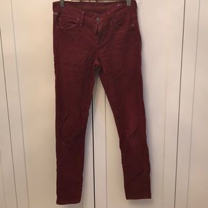 Citizens of Humanity - Corduroy skinny jeans.